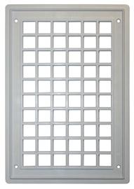 Ventilācijas reste  Plaskanta, 17x25cm, balta