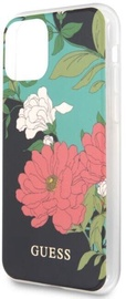Guess Flower Shiny for Apple iPhone 11 Black