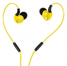 Ausinės iBOX S1 Sport Audio Mobile Headphones Yellow/Black