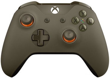 Microsoft Xbox One S Wireless Controller Military Green/Orange