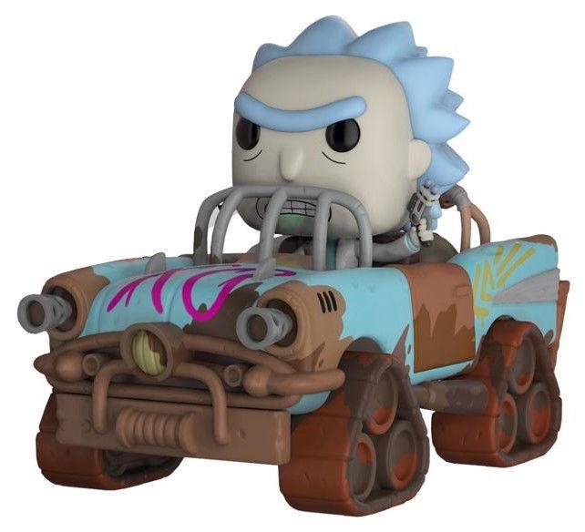 Funko Pop! Rides Rick and Morty Mad Max Rick 37