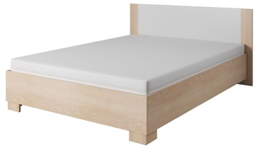 Кровать WIPMEB Markos, сосновый, 204x166 см, с решеткой