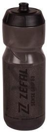 Велосипедная фляжка Zefal Sense Grip 80 Smoked Black With Black Print 0.8l