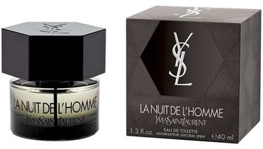 Tualetes ūdens Yves Saint Laurent La Nuit de L Homme 40ml EDT