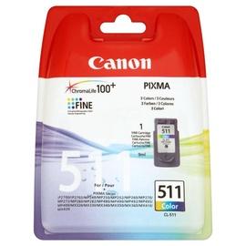 Rašalinio spausdintuvo kasetė Canon Pixma CL-511, spalvota