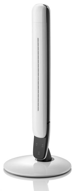 Galda lampa HR S1 LED 10W, balta