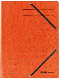 Herlitz Flap File 10843878 Orange