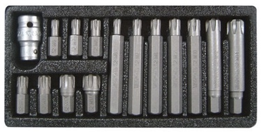 Yato YT-0419 Screwdriver Bit Set Ribe 15pcs