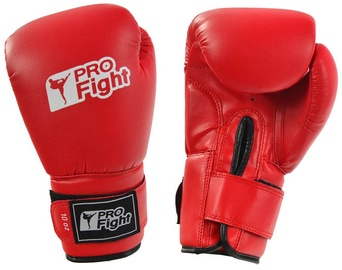 ProFight PVC Boxing Gloves Red 10oz
