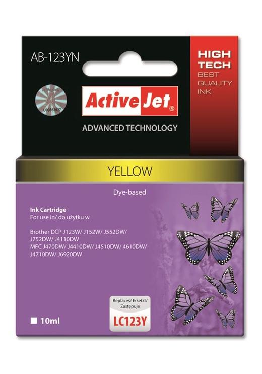 ActiveJet Cartridge 10ml Yellow