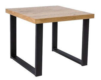 Signal Meble Umberto C Oak Coffee Table 60x60cm Oak/Black