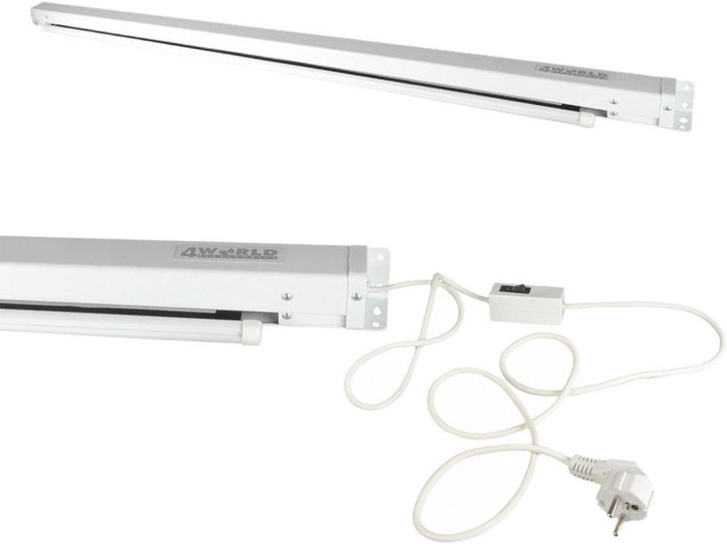 Projektoriaus ekranas 4World Electric Display for Projector 221x124cm w/Switch