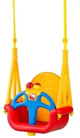 EcoToys Bucket Garden Swing 3 in 1 Red/Yellow