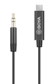 Boya BY-K2 3.5mm TRS To USB Type-C Adapter 20cm