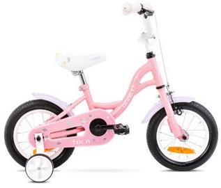 Bērnu velosipēds Romet Tom 12 7S Pink/White