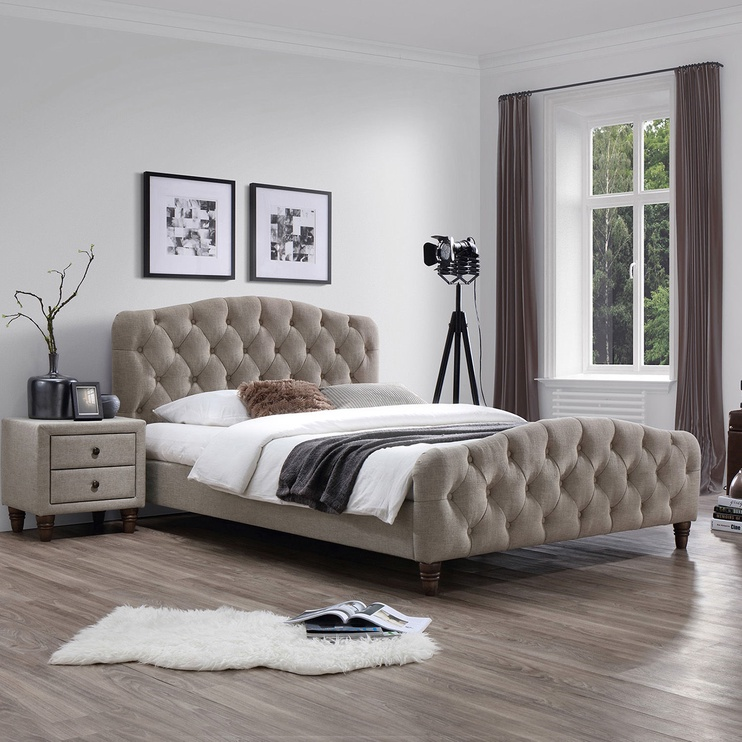 Home4you Sandra Bed w/ Mattress Harmony Delux