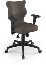 Entelo Perto Black Office Chair VE03 Brown