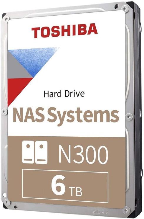 Toshiba N300 7200RPM SATA 256MB 6TB