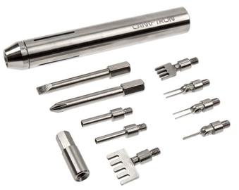 Lamptron Deluxe Modding Tool Kit Silber