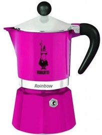 Bialetti Rainbow Coffee Maker 0.3l Pink