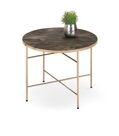 Kavos staliukas Isabelle rudas, 60 x 60 x 45 cm