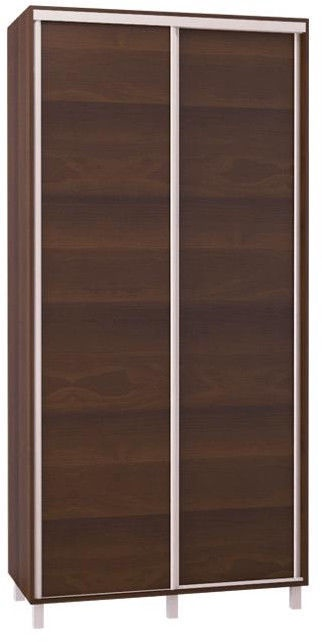 Bodzio Sliding Wardrobe 100cm Walnut