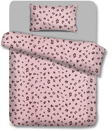 AmeliaHome Madera Pink Panther Bedding Set 160x200/70x80 2pcs