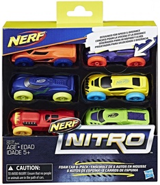 Hasbro Nerf Nitro Foam Car 6-Pack C3172