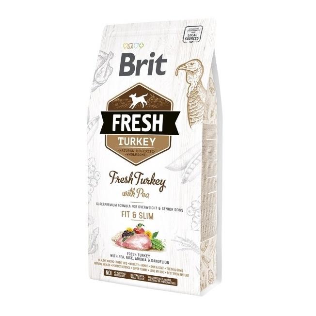 Sausas ėdalas šunims Brit Fresh Turkey, 2,5 kg