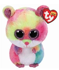 Pliušinis žaislas Meteor TY Beanie Boos Hamster Rodney, 15 cm