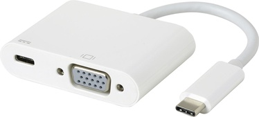 eSTUFF USB-C VGA Charging Adapter