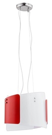 LAMPA GRIESTU KRIS RED WHITE 60052 2XE27 (ALFA)
