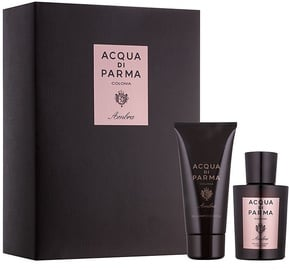 Acqua Di Parma Ambra 100ml EDC + 75ml Shower Shampoo & Gel