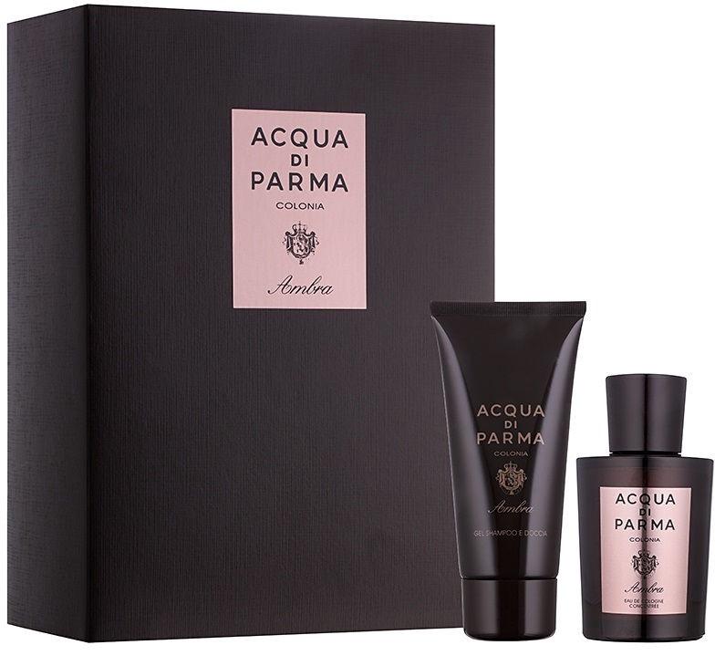 Набор для мужчин Acqua Di Parma Ambra 100 ml EDC + 75 ml Shower Shampoo & Gel
