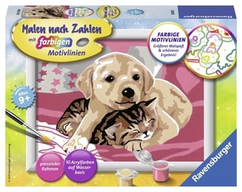 Ravensburger Painting By Numbers Best Friends 280315