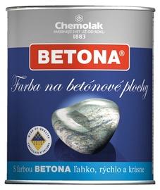 Dažai betoniniams paviršiams Chemolak Betona, pilki, 0.75 l