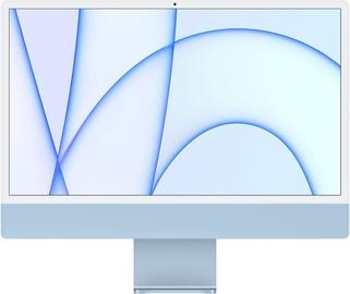 "Stacionarus kompiuteris Apple iMac / MJV93ZE/A / 24"" Retina 4.5K / M1 7-Core GPU / 8GB RAM / 256GB Blue LT"