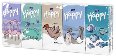 Bella Happy Pocket Size Tissues 9x10pcs
