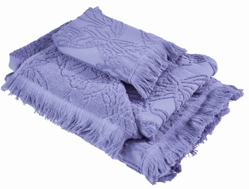 Ardenza Blossom Terry Towels Set 3pcs Purple