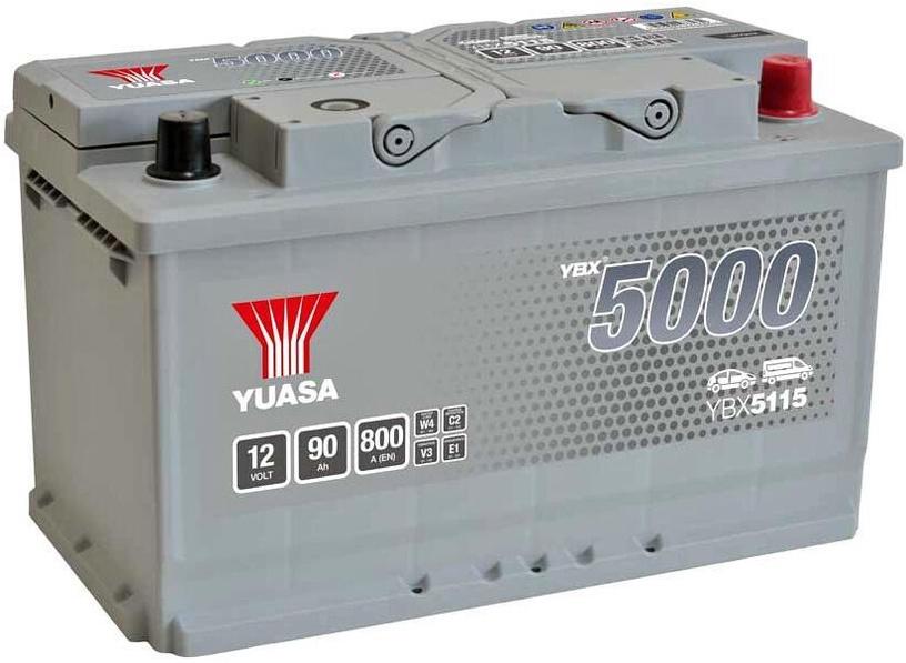 Аккумулятор Yuasa, 12 В, 90 Ач, 800 а