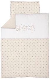 Ceba Baby Bedding Set With Embroideries 2pcs Stars Beige