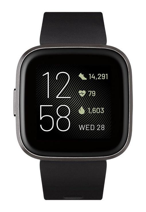 Fitbit Versa 2 Black Carbon Aluminium