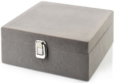 Mondex Laura Jewelry Box Gray 20.2x20.3x9cm