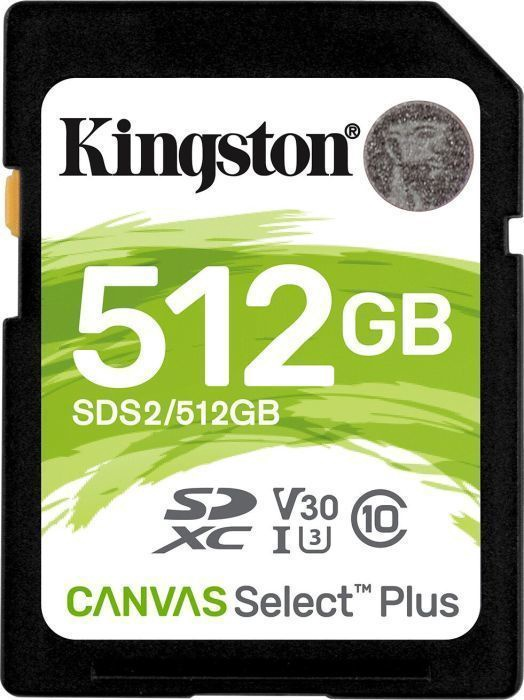 Kingston Canvas Select Plus 512GB SDXC UHS-I Class 10