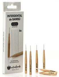 Naturbrush Sustainable Interdental Brush 0.60mm 6pcs
