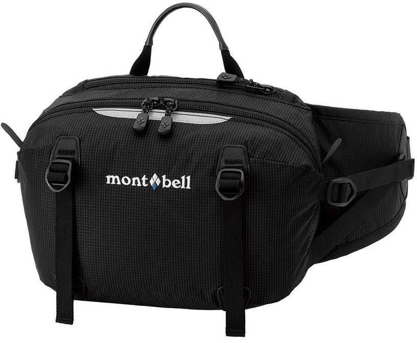 Montbell Trail Lumbar Pack 4 Black