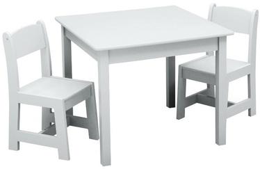 Vaidmenų žaidimas Delta Children MySize Table & Chairs Set White
