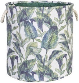 Home4you Tropic 1 Basket D40xH40cm Tropic Leaves 83591