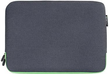 Gecko Covers Universa Zipper Sleeve For Laptop 17.3'' Grey/Green