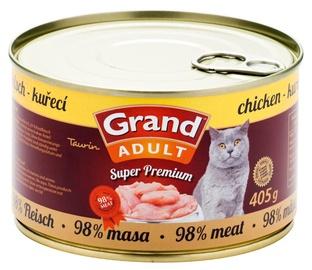 Konservi kaķiem Grand Superpremium Chicken 405g